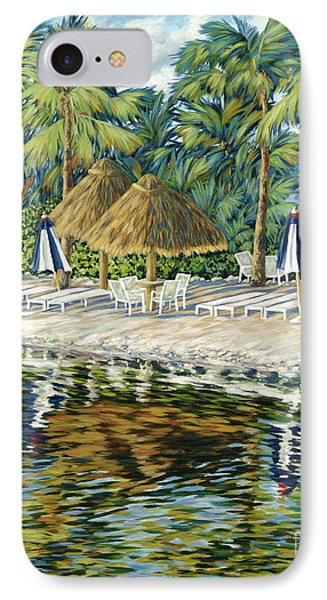 Buccaneer Island Phone Case by Danielle  Perry