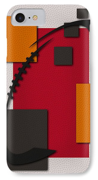 Buccaneers Football Art IPhone Case by Joe Hamilton