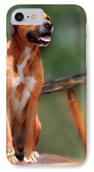 Buck Phone Case by Colleen Taylor