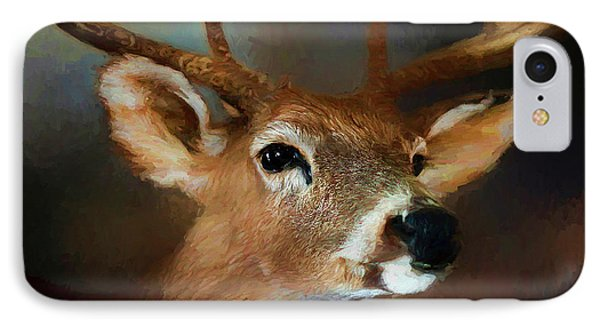IPhone Case featuring the photograph Buck by Darren Fisher