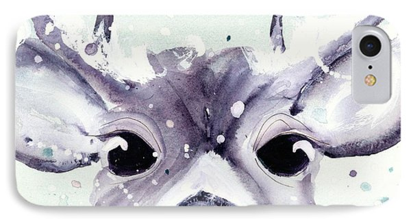 IPhone Case featuring the painting Buck by Dawn Derman