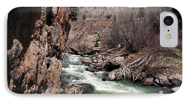 Buck In The Rapids IPhone Case