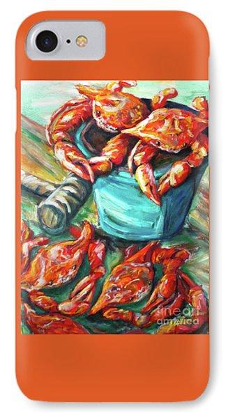 Bucket O Crabs IPhone Case