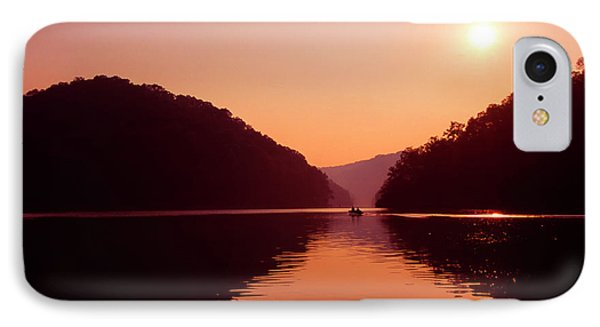 IPhone Case featuring the photograph Buckhorn Lake Sunset by Thomas R Fletcher