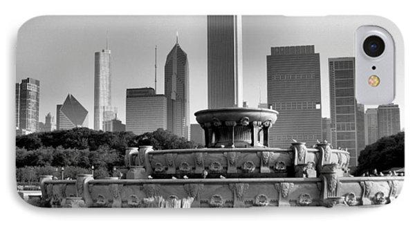 Buckingham Fountain - 2 IPhone Case by Ely Arsha