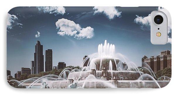 Buckingham Fountain IPhone Case by Scott Norris
