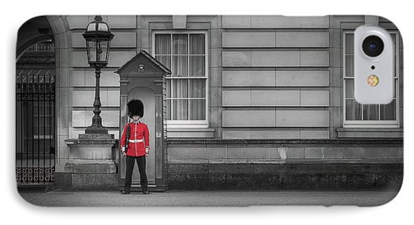 Buckingham Palace Guard IPhone Case by Martyn Higgins