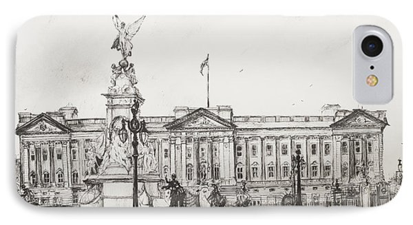 Buckingham Palace IPhone Case by Vincent Alexander Booth
