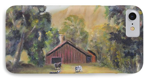Bucks County Pa Barn IPhone Case