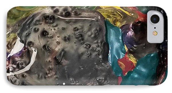 Bucktooth Seal Reaching For Success IPhone Case by Gyula Julian Lovas