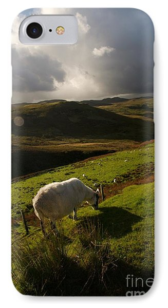 Bucolic Scotland IPhone Case by Louise Fahy