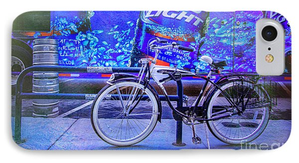 Bud Light Schwinn Bicycle IPhone Case