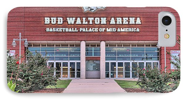 Bud Walton Arena IPhone 7 Case by JC Findley
