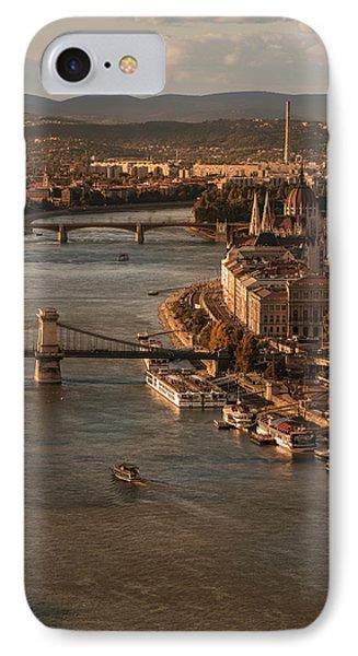 Budapest In The Morning Sun IPhone Case by Jaroslaw Blaminsky