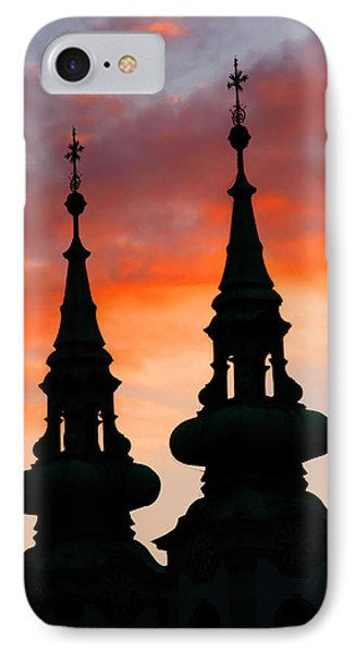 IPhone Case featuring the photograph Budapest Sunset by KG Thienemann