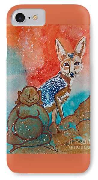 Buddha And The Divine Kit Fox No. 1373 IPhone Case
