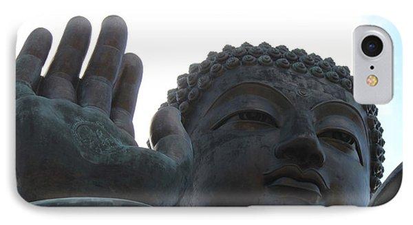 Buddha At Ngong Ping Village, Hong Kong IPhone Case