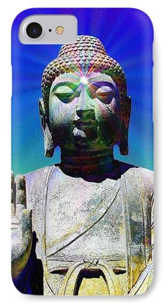 Buddha Blue IPhone Case