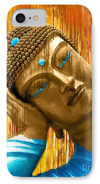 Buddha Contemplation IPhone Case