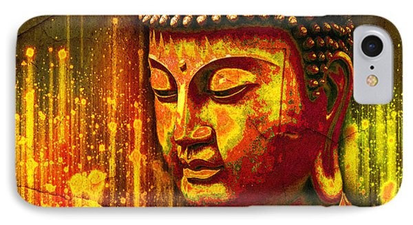 Buddha Eclipse IPhone Case