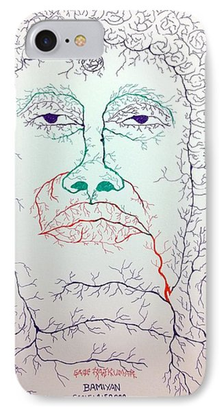 Buddha In Watershed IPhone Case by RajKumar Gade