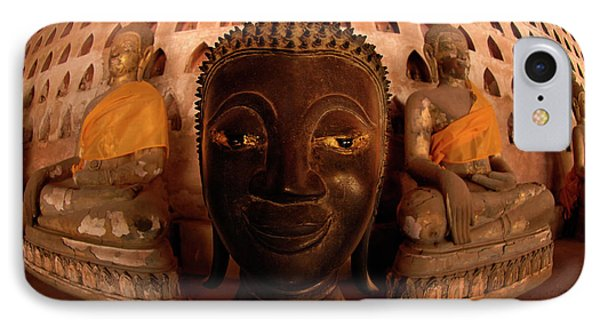 IPhone Case featuring the photograph Buddha Laos 1 by Bob Christopher