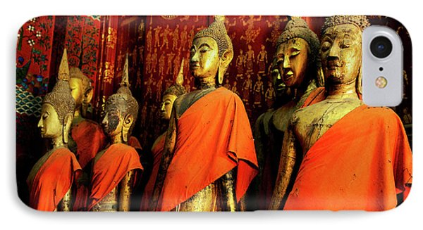 IPhone Case featuring the photograph Buddha Laos 2 by Bob Christopher