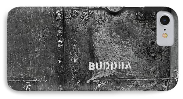Buddha IPhone Case by Laurie Stewart