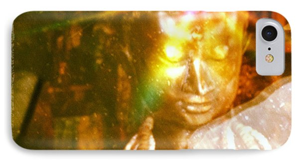Buddha Light IPhone Case by Roselynne Broussard
