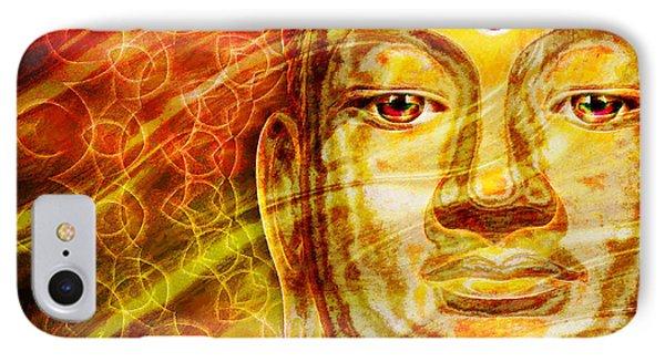 Buddha Mandala IPhone Case by Khalil Houri