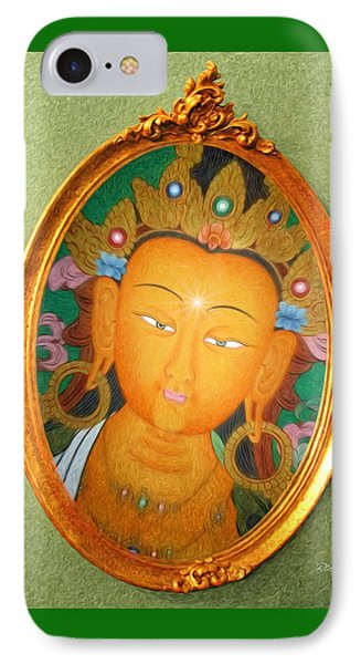 Buddha Mirror Phone Case by Robby Donaghey