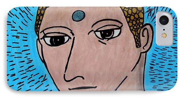 Siddhartha The Buddha IPhone Case by Paulo Guimaraes