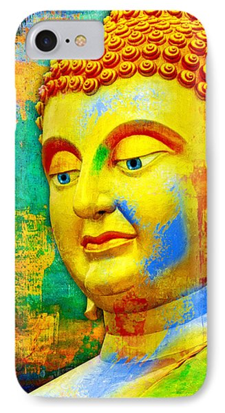 Buddha Rainbow IPhone Case
