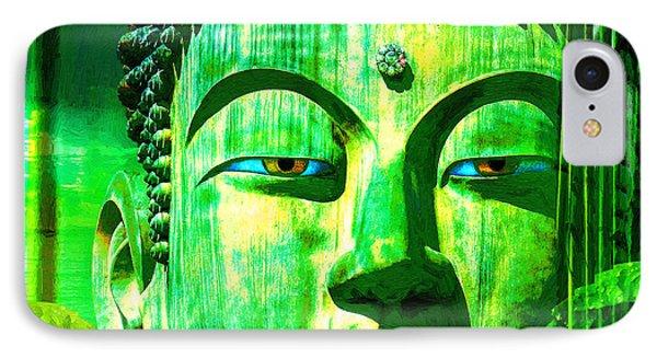Buddha Rainforest IPhone Case