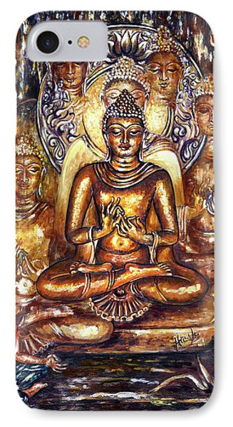 Buddha Reflections IPhone Case by Harsh Malik