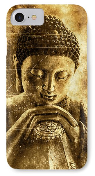 Buddha Ruby Red IPhone Case