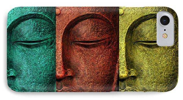 Buddha Statue IPhone Case by Mark Ashkenazi
