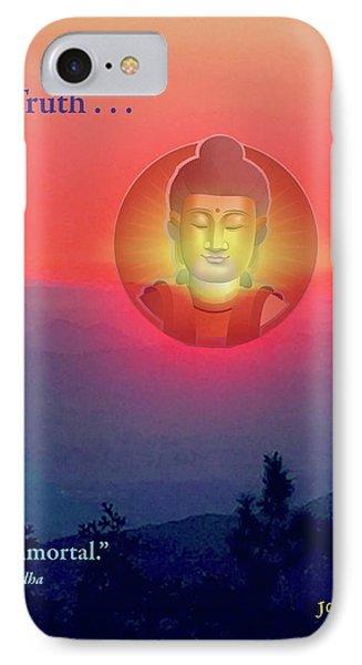 Buddha Sunset Phone Case by Jack Eadon