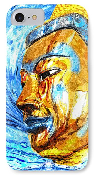 Buddha Surf IPhone Case