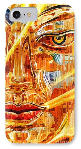 Buddha Titanium IPhone Case
