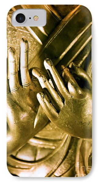 Buddhas Hands Phone Case by Ray Laskowitz - Printscapes