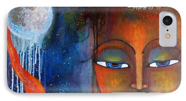 Buddhas Robe Reaching For The Moon IPhone Case