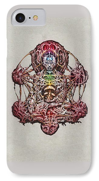 Buddhatron's Cubensis IPhone Case by Will Shanklin