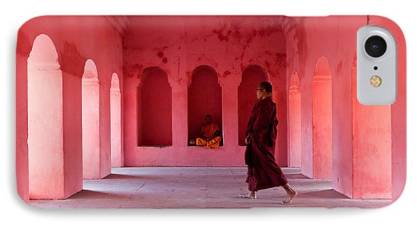 Buddhism Phone Case by Marji Lang