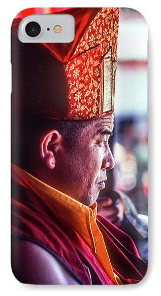 Buddhist Monk 2 IPhone Case by Steve Harrington