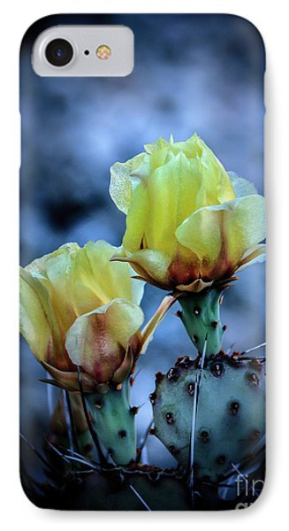 IPhone Case featuring the photograph Budding Prickly Pear Cactus by Robert Bales