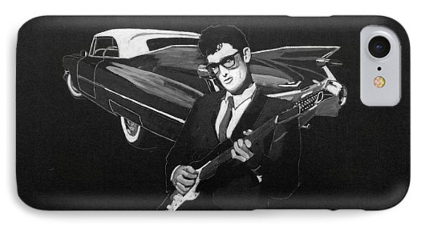 Buddy Holly And 1959 Cadillac IPhone Case