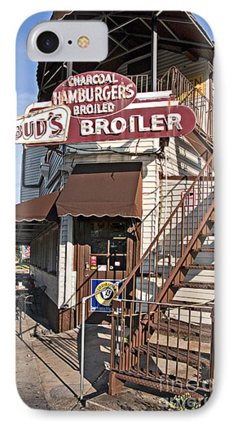 Bud's Broiler New Orleans IPhone Case by Kathleen K Parker