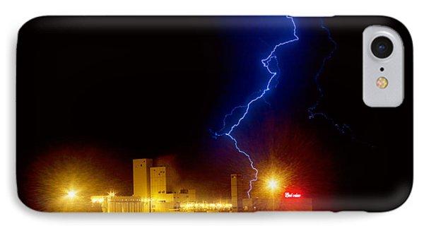 Budweiser Lightning Strike Phone Case by James BO  Insogna