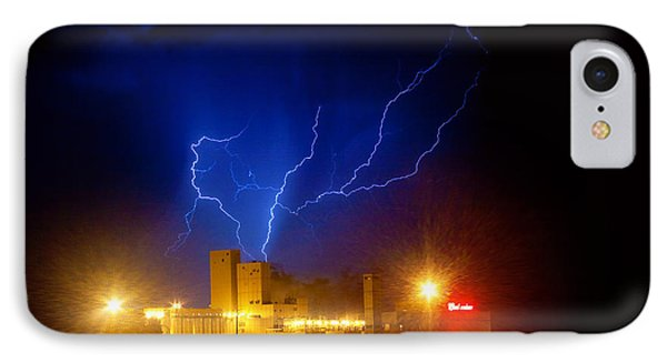 Budweiser Powered By Lightning Phone Case by James BO  Insogna